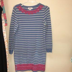 Vineyard vines sweater dress size medium